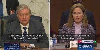 "Lindsey Graham Talks About The ""Good Old Days Of Segregation"" During The Amy Coney Barrett Hearings"