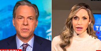 Jake Tapper Cuts Off Lara Trump's Interview After She Claims Stuttering Is Sign Of 'Cognitive Decline'