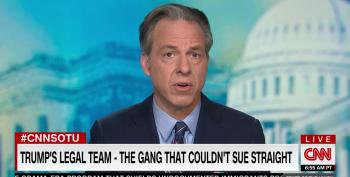 Jake Tapper: How Long Are Republicans Going To Stick With 'The Gang That Couldn't Sue Straight'?