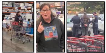 Anti-mask Karen Gets Herself Arrested At Costco