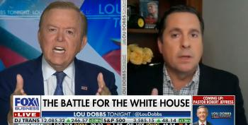 'Good Lord, Congressman!' - Lou Dobbs Shrieks At Devin Nunes For Refusing To Save Trump