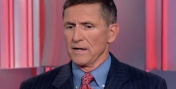 Pardoned Traitor Flynn 'Forgets' Pledge Of Allegiance