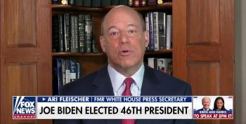 Ari Fleischer Wants Us To Give The Man-Baby A 'Few Days Or Longer To Absorb' That He Lost