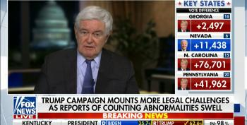 Newt Gingrich Demands Bill Barr Arrest Election Workers