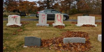 Jewish Cemetery In Michigan Vandalized With 'Trump' Instead Of Swastikas