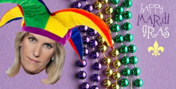Laura Ingraham Continues To Promote Covid Murder Culture By Whining Over Mardi Gras