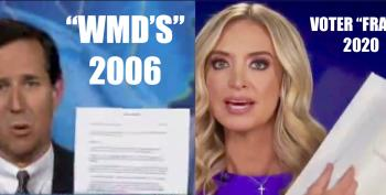 Kayleigh McEnany Provides 234 Pages Of Phony Voter Fraud Proof. Remind You Of Anything?