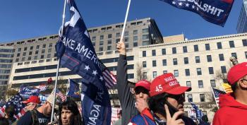 Thousands Of White Supremacists Descend On DC For 'Million MAGA March'