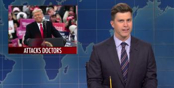 SNL's Colin Jost Tears Into Trump For Killing His Own Supporters At His Super-Spreader MAGA Rallies
