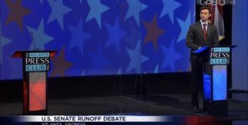 Pathetic GA Senator Purdue Skips Televised Debate With Jon Ossoff
