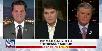 Gaetz And Hannity Urge Trump To Admit He And His Family Are Guilty Of Committing Federal Crimes