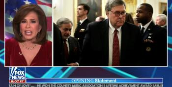 Fox's Jeanine Pirro Goes On Unhinged Rant Attacking Bill Barr As 'The Ultimate Do-Nothing Deep Stater'