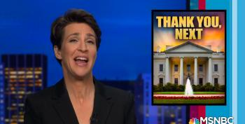Maddow Tells Trump Legal Team You Can't File With SCOTUS On Twitter