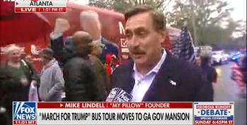My Pillow Guy Says Trump Will Be President In Strange Rant