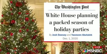 White House Planning A 'Spate' Of Indoor Extravaganzas To Celebrate Holiday Season