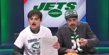 SNL Mocks Pro-Trump Propaganda Network Newsmax With 'Sportsmax' Channel For Jets Fans
