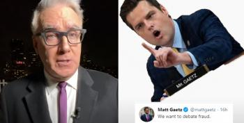 Keith Olbermann Names Names In Sedition Plot; Matt Gaetz Takes It Personally