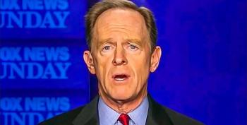 Sen. Pat Toomey: Trump Going Too Far With Pardons, But Michael Flynn Never 'Committed A Crime'
