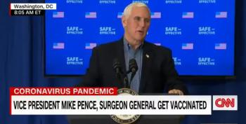 Friday News Dump: Vice President Mike Pence Gets Vaccinated, And Other News