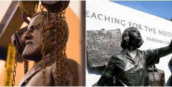 Justice In Statues: Robert E. Lee Replaced By Girl Who Sparked Brown V. Board Of Education