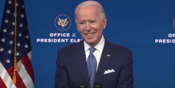 Joe Biden's Holiday Address Had Plenty Of Fireworks Aimed At Trump On Cybersecurity