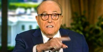 Spiraling Rudy Giuliani Desperately Claims Election Fraud Was Coordinated By 'Somebody In Washington'