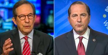 Chris Wallace Scolds HHS Secretary Alex Azar On COVID: 'A Massive Failure By President Trump'