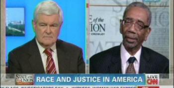 Gingrich Attacks Rep. Rush For Donning Hoodie While Ignoring Gang Violence