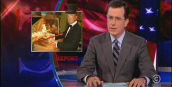 Colbert: McDonald's Budget For Minimum Wage Employees Proves They Don't Care About Math
