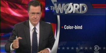 The Colbert Report: Color-Bind