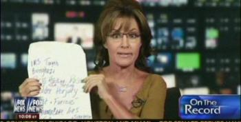 Palin: 'I Was Forbidden From Telling The Truth About Obama In 2008'