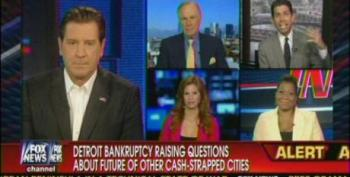 Fox Pundits Push For Fire Sale To 'Fix' Detroit's Financial Problems