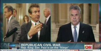 Rep. Peter King: Senator Paul Reminds Me Of Hitler Appeasers