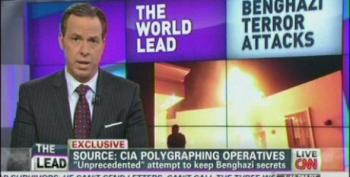 CNN's Jake Tapper Helps The Right-Wing Sell Benghazi 2.0