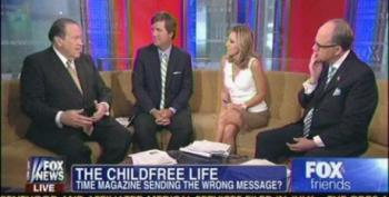 Fox Panel Asks If Time Magazine Cover On 'Childfree Life' Is 'Sending The Wrong Message'