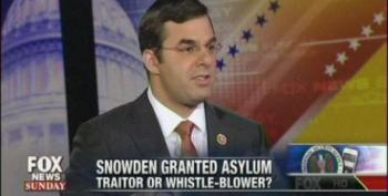 Rep. Justin Amash Says Edward Snowden Is A Whistleblower