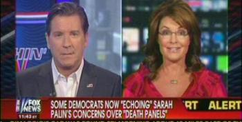Fox's Palin Continues To Lie About 'Evil' 'Death Panels' In 'Obamacare'