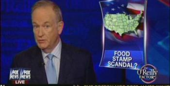 Bill O'Reilly Smears Food Stamps: Encourages Parasites To 'Take As Much As They Want'