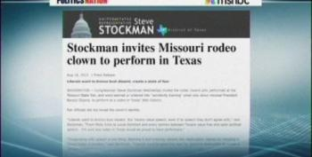 Wingnut Rep. Stockman Invites Obama Rodeo Clown To Perform In Texas