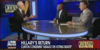 Fox Panel Uses Increased African American Turnout To Pretend Voter Suppression Doesn't Exist