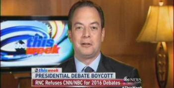RNC Chair Priebus Mocks Former Romney Aide: 'I Don't Know If His Etch A Sketch Is On Tilt'
