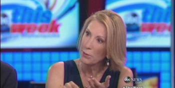 Carly Fiorina Falsely Claims Democrats Have No Plans To Improve The Economy