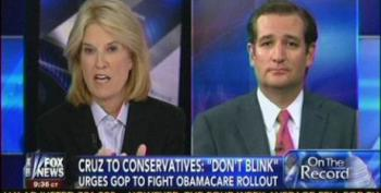 Ted Cruz Pretends Republicans Won't Be Blamed For Government Shutdown To Defund 'Obamacare'