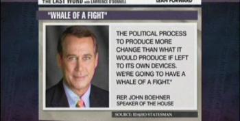 Boehner Promises More Hostage Taking On The Debt Ceiling