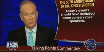 Bill O'Reilly Complains About Lack Of Republican Speakers At MLK Anniversary
