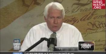Bryan Fischer: America Will Never Elect A Saggy Old Woman Like Hillary Clinton As President
