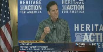 Jim DeMint Attacks 'Obamacare' As 'Un-American'