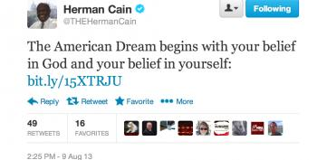 Stupid Right-Wing Tweets: Herman Cain Edition