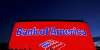 U.S. Justice Department Sues Bank Of America