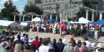 Moral Monday Hits The Road: Thousands Protest In Asheville